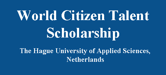 Image result for World Citizen Talent Scholarship for International Students