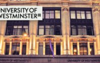 University of Westminster Full International Scholarships