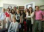 Вітаємо випускників Школи польського та європейського права 2012 року з успішним проходженням навчальної практики в Польщі.