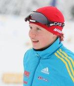 Анастасія Меркушина найкраща серед українських біатлоністок