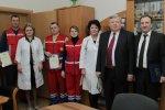 Зустріч з лікарями станції швидкої медичної допомоги