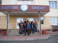 Першокурсники ФАЕМ відвідали бібліотеку ТНЕУ
