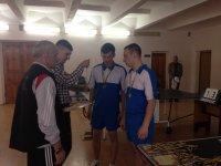 Відбулися змагання Універсіади області з настільного тенісу
