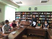 Учасники студентського наукового гуртка «Учні Луки Пачолі» розпочали роботу