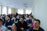 Про електронні гроші цифрової економіки студентам ТНЕУ розповів Анатолій Гулей