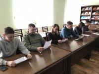 Засідання студентського наукового гуртка «Учні Луки Пачолі»